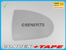 Right Side Wing Mirror Glass MITSUBISHI COLT 2002-2012 + STRONG TAPE #273