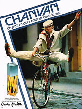 PUBLICITE ADVERTISING  1978    CHARLES OF THE RITZ  parfum CHARIVARI