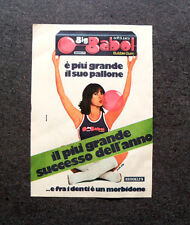K723- Advertising Pubblicità -1980- BIG BABOL BUBBLE GUM , BROOKLIN