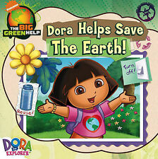 Dora Helps Save the Earth (Dora the Explorer), Nickelodeon, New Book