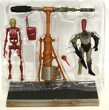 Loose Star Wars C3po with Droid Factory Assembly Line  3 3/4 Star Wars AOTC 2002