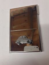 FIAT 500 ref64 PELTRO effetto automobile su un StainlessSteel Business card holder
