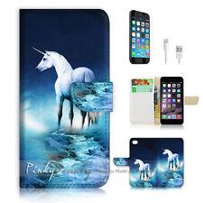 iPhone 6 (4.7') Flip Wallet Case Cover! P1196 Unicorn