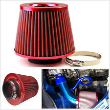 75mm Universal 3' Air Intake Cone Filter Turbo Vent Crankcase Breather for Mazda