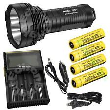 Nitecore TM16GT 3600 lumen Tiny Monster Flashlight/Searchlight  w/ Charger Holst