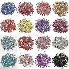 2000pc Nail Art Rhinestone Crystal Bead Gem 2/3/4/5mm Acrylic Flat Back Diamante
