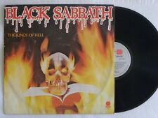 BLACK SABBATH THE KINGS OF HELL LP BRAZIL ONLY RARE 1984 Ozzy Osbourne Metallica