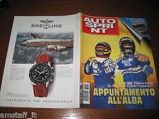 AUTOSPRINT 1996/41=TROFEO 500=RALLY SILA=CAPELLO CAMPIONE SUPERTURISMO AUDI=