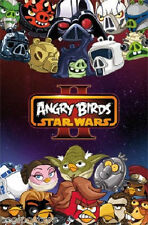 2013 ANGRY BIRDS STAR WARS 2 VIDEO GAME POSTER PRINT 22x34 NEW FREE SHIPPING