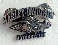 Harley Hog DILLIGAF Pin Badge, Rock Heavy Metal Biker, Hells Angels Support 81