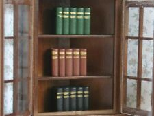 Three Block Books, Dolls House Miniature Study Library, Shelf Accessory