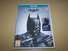 Batman: Arkham Origins (Nintendo Wii U, 2013) **New and Sealed**