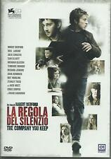 La regola del silenzio. The company you keep (2012) DVD
