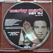 Marky Mark – Hey DJ (Radio Edit)  Mercury beats 001  CD Promo