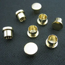 10pcs High Quality Noise Stopper Gold Plated Copper Caps for RCA Jack Female