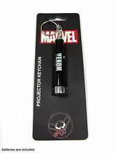 Venom Kawaii Marvel Figure Logo Symbol Printed Projector Flashlight Keychain