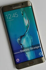 Samsung GALAXY s6 EDGE + in oro fittizia Finta/non working-DISPLAY MODEL