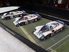 Porsche 956L Wins 1982 24h Le Mans 1-2-3 (3 car set)