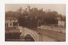 Arundel Bridge & Castle, Judges Postcard, A866