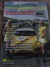 BRITISH RACING NEWS MAGAZINE #266 JUN 2004 PUNTO DRIVING STANDARDS FORD XRs TCAR