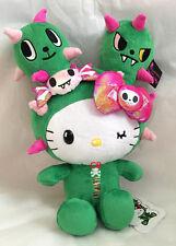 Sanrio Hello Kitty x Tokidoki Collectible Plush Cactus With Free Sticker Limited