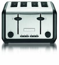 New Krups KH744D50 Definitive Series Stainless Steel 4 Slice Toaster