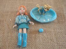 Polly Pocket Doll Fashion Pets Matching Cat Kitty Outfit C90