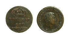pci3246) Napoli Regno delle Due Sicilie Ferdinando II - 1/2  tornese 1858