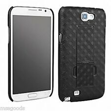 Verizon OEM Samsung Galaxy Note 2 Shell Case w/Kick-Stand(No Holster)All Carrier