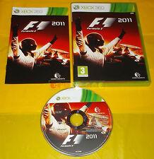 FORMULA 1 2011 XBOX 360 F1 F Versione Ufficiale Italiana ○○○○○ COMPLETO