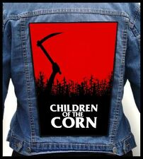 CHILDREN OF THE CORN --- Giant Backpatch Back Patch / Cult Movie 80's