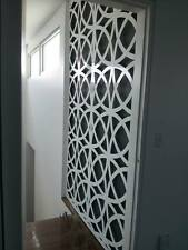 2400x1200Laser Cut Metal Decorative Screen 'Moroccan' Mild Steel - 2.4m x 1.2m