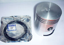 PISTON ASSY (WITH RINGS, GUDGEON PIN & CIRCLIP) OVER SIZE JAWA 250 350 PERAK 11