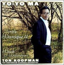 Yo-Yo Ma - Simply Baroque II ~ Bach & Boccherini / ABO, Koopman by Johann Sebas