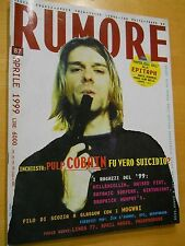 RUMORE N 87 1999 - COBAIN, MILLENCOLLIN, RAISED FIST, SATANIC SURFERS,BIRTHRIGHT
