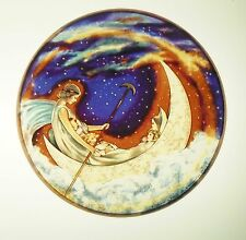 Glassmasters: Hugh Williams: Moonboat to Dreamland  6.5 inches inches