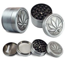 METAL AMSTERDAM 40MM 4 PART SHARK TEETH MAGNETIC GRINDER HERB ENGRAVED