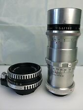 Two Exakta lenses, Carl Zeiss Jena Tessar 50mm f2.8 and Meyer Optik 180mm f5.5.