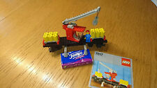 TOP: LEGO  12V  7817   Kran - Waggon mit 1a OBA  / Crane Wagon + 1a instruction