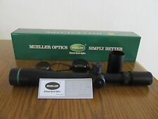 Mueller Rifle Scope 8-32x44 Hunting Target Dot Side Focus Sniper Tactical Gun