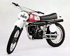 1976 Husqvarna Motocross Motorcycle 360WR Factory Photo c3852-77PQK9