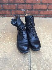 Army Boots British Army Black Leather Military Combat Boots
