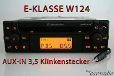 Mercedes Original Autoradio W124 E-Klasse S124 Audio 10 CD MF2910 AUX-IN MP3