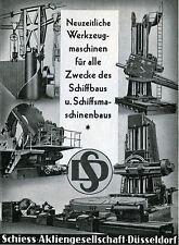 Lot 10 x SCHIESS AG Düsseldorf historische Aktie 1942 REUTER Dörries Scharmann
