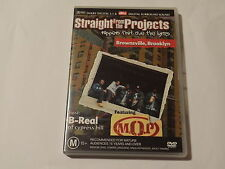 STRAIGHT FROM THE PROJECTS - RAPPERS THAT LIVE THE LYRICS DVD *GREAT PRICE*
