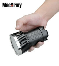 PT60 4 X 18650 9600 Lumen CREE XP-G2 S4 LED Flashlight, MecArmy