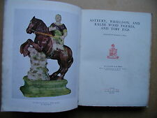 Astbury, Whieldon, and Ralph Wood Figures, and Toby Jugs. 1922 RARE Limited Edn