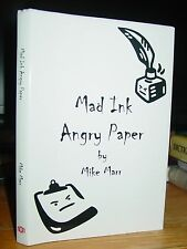 Mad Ink Angry Paper, Poems By Mike Marr, Children & Adults, Signed, Rock Hill SC