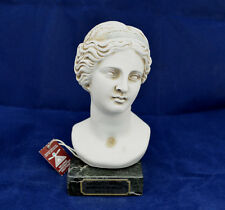 Venus Aphrodite bust Greek Goddess of  love and beauty sculpture statue