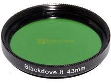 43mm. filtro verde Blackdove-cameras